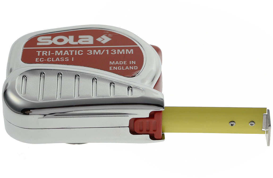 Sola Rollbandmaß TRI-MATIC TM 8 m