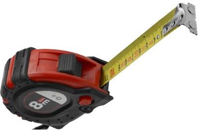 Lemmet 8 meter rolmaat met magneten